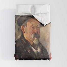 Paul Cézanne - Self-Portrait with a Beret Comforters