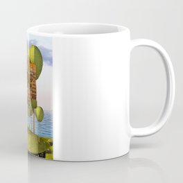 City in the Sky_Lanscape Format Coffee Mug