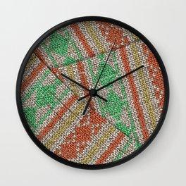 Winter Lovers VIII. Wall Clock