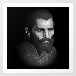 "Thom ""Blackwall"" Rainier Art Print"