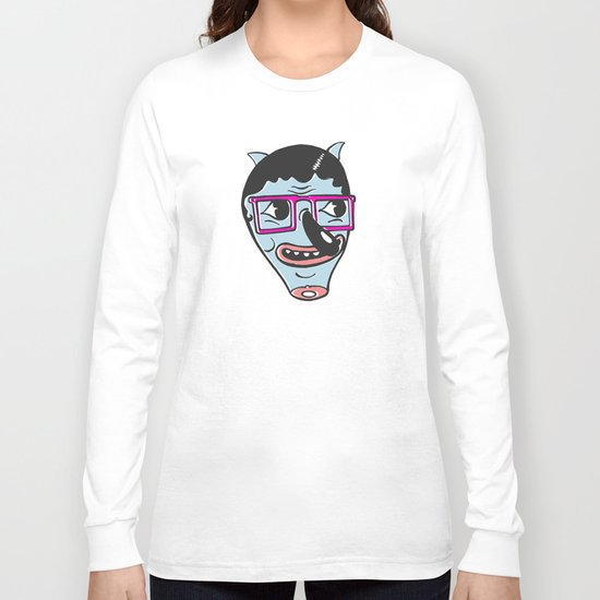ohai! print Long Sleeve T-shirt