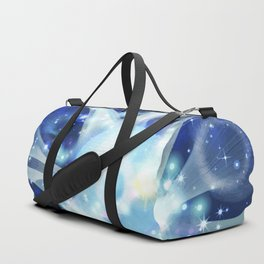 Invisible paths of the Universe. Space Duffle Bag