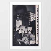 noir Art Prints featuring Noir by Michael Tunk