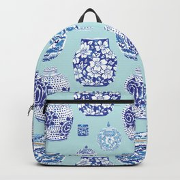 Chinoiserie Ginger Jar Collection No.3 Backpack