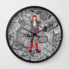 Heroes Fashion 3 Wall Clock