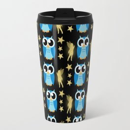 Owl Pattern Travel Mug
