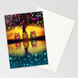 owl-202 Stationery Cards
