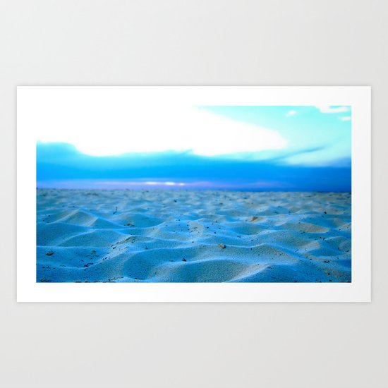 Sunset Sands Art Print