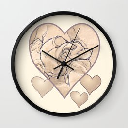 Lost In The Land Of Dreams 1 Wall Clock