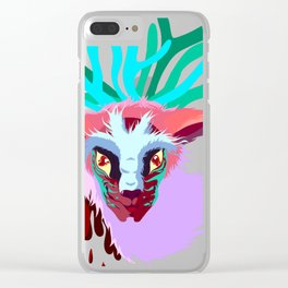 Forest Spirt Clear iPhone Case