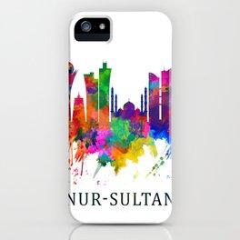 Nur-Sultan Kazakhstan Skyline iPhone Case