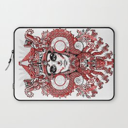 Red Serpent Queen Laptop Sleeve