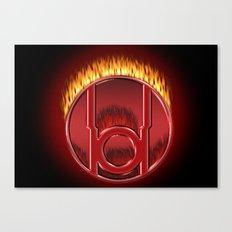 Red Lantern Corp (Rage) Canvas Print
