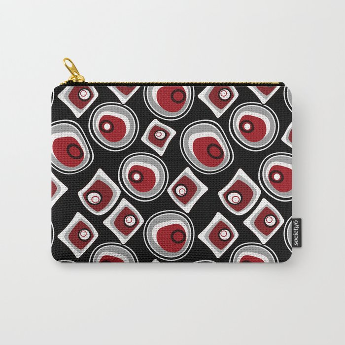 "Abstraction. ""Pebbles "" on a black background . Carry-All Pouch"