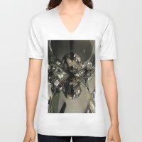 universe V-neck T-shirts featuring UNIVERSE by Manuel Estrela 113 Art Miami