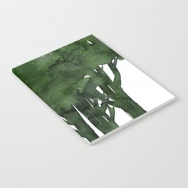 Tree Impressions No.1C by Kathy Morton Stanion Notebook