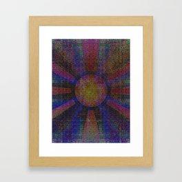 Surya Invocation (Sun) - Magick Square Yantra Tantra Framed Art Print