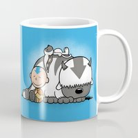 aang Mugs featuring You Arrowhead! by adho1982