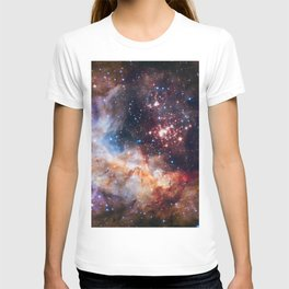NASA Galaxy Photography Duvet Cover T-shirt