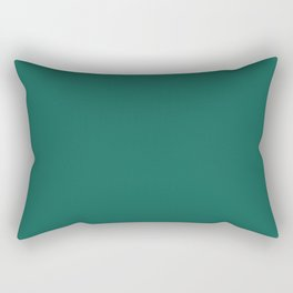Trends Color Of The Day Galapagos Green Rectangular Pillow
