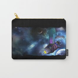 Flying Through Space Carry-All Pouch