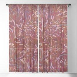 Demon Sheer Curtain