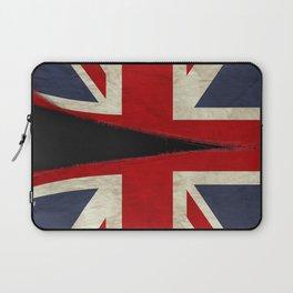 Ripped Union Jack Laptop Sleeve
