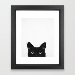 Are you awake yet? Framed Art Print
