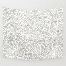 Moroccan tiles Wall Tapestry