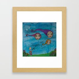 Discover the Skies Framed Art Print