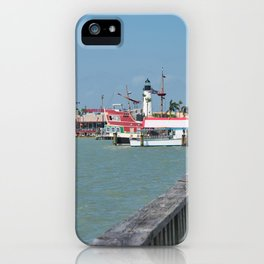 Lighthouse in Port Isabel Texas 2 iPhone Case