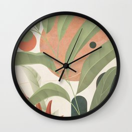 Elegant Shapes 22 Wall Clock
