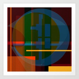 Color System  Art Print