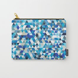 Icy triangles Carry-All Pouch