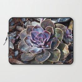 Succulent Plant Poetry Laptop Sleeve
