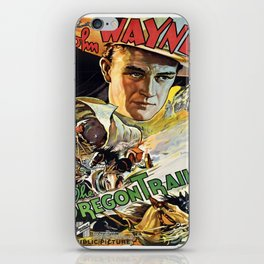 Vintage poster - The Oregon Trail iPhone Skin