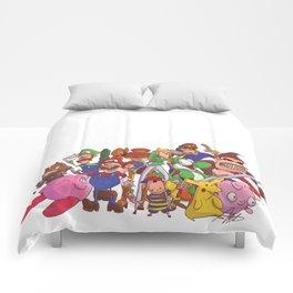 Super Smash Bros Comforters