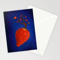 Strawberry Concept Stationery Cards