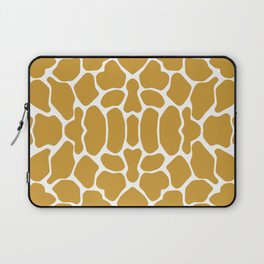 Sudan Brown Safari Giraffe Laptop Sleeve