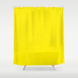 Yellow Amarillo Jaune Gelb желтый Shower Curtain