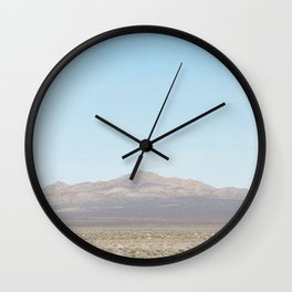 Mountain View Wall Clock