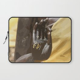Buddha Hand Illustration Laptop Sleeve