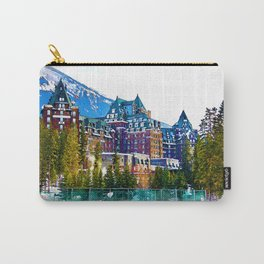 Castle in the Mountains - Banff Alberta Canada Carry-All Pouch