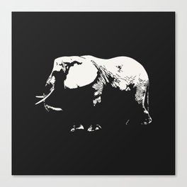 Elephanthropy Canvas Print
