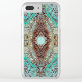 pattern 1 Clear iPhone Case
