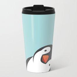 Penguin Metal Travel Mug