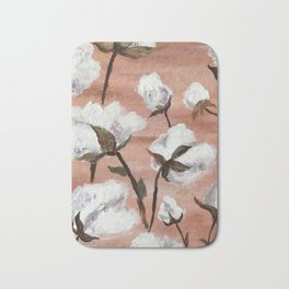 Cotton field Bath Mat