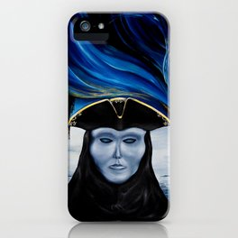 Masks over Pain iPhone Case