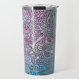 August's end doodle Travel Mug