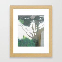 Chinook Fog Framed Art Print